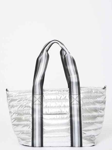 Junior Wingman Bag-Silver Foil, Silver, large image number 0