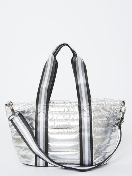 Junior Wingman Bag-Silver Foil, Silver, large image number 3