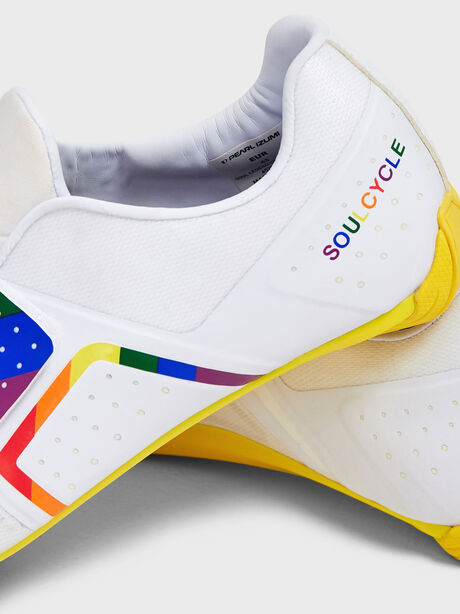 Pride Legend Cycling Shoe, White, large image number 1