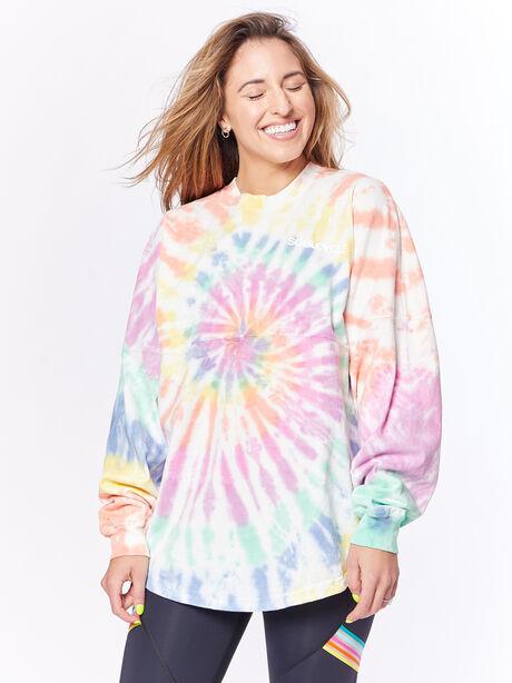 Pride Tie-Dye Spirit Jersey Sobe, Multi Color, large image number 1