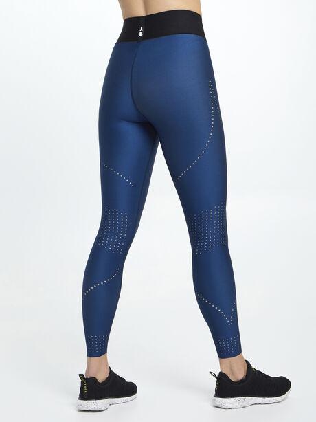 Ultra High-Rise Stylist Pixelate Legging Navy, Navy, large image number 3