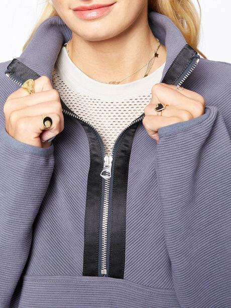 Harding Half-Zip Pullover Deepest Slate, Dark Slate, large image number 1