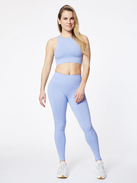 One By One Seamless Bra Periwinkle, Periwinkle, large image number 3