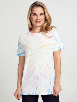 Weekend Tie-Dye T-Shirt, Tie Dye, large