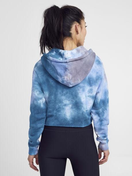 Tie Dye Brooklyn Sweatshirt, Blue Tied, large image number 2