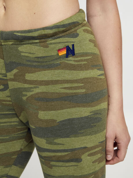 Camo Sweatpant With Pink Soul, Green/Camo, large image number 1
