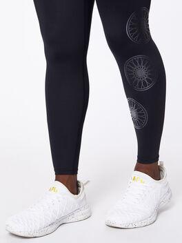 Milestone High-Rise Legging 7/8 Black, Black, large