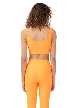 Grand Stand Sports Bra Shocking Orange, Orange, large