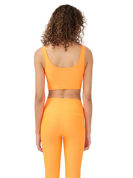 Grand Stand Sports Bra Shocking Orange, Orange, large image number 1