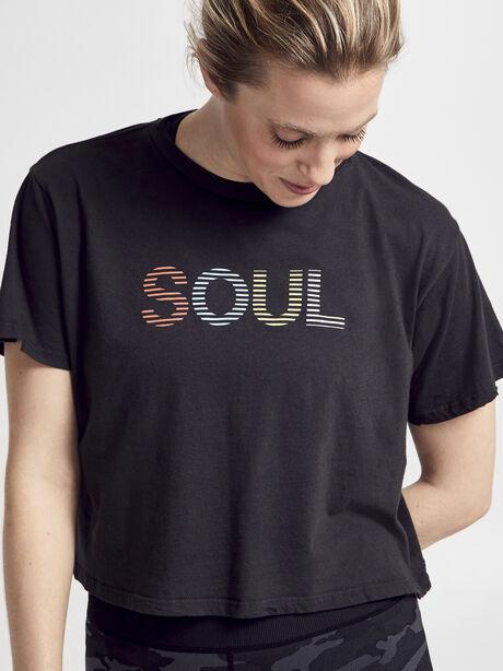 Short Sleeve Distressed Shirt, Vintage Black, large image number 0