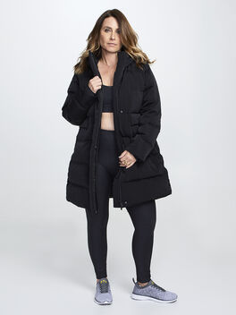 In a Flurry Parka, Black, large