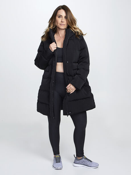 In a Flurry Parka, Black, large image number 0