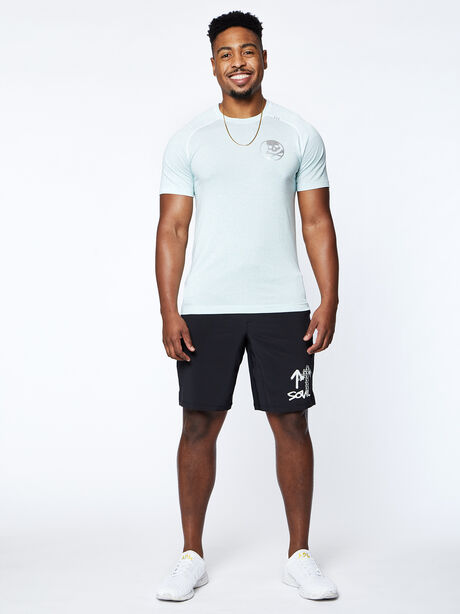 Metal Vent Tech Short Sleeve, White/White/Blue/Lime, large image number 4