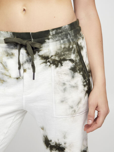 Army/White Sayde Sweatpant, Green Ombre, large image number 1