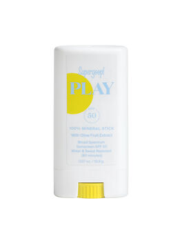 Play 100% Mineral Stick With Olive Fruit Extract SPF 50, Clear, large