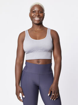 Hesby Sports Bra, Ghost, large