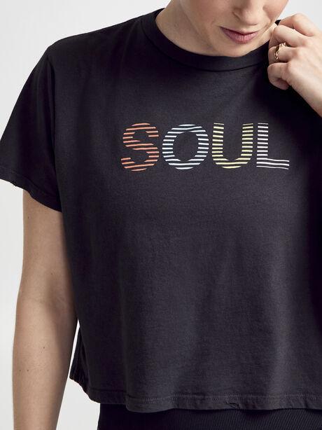 Short Sleeve Distressed Shirt, Vintage Black, large image number 1