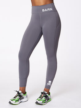 "In Movement Legging 25"" Titanium Barn, Titanium, large"