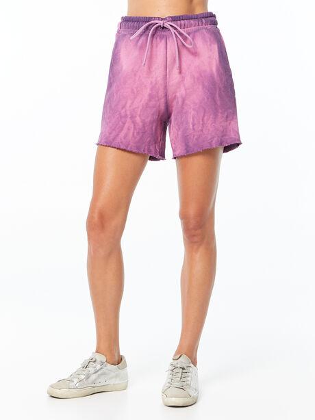Oversized Brooklyn Sweatshort Lavender Mix, Purple, large image number 1