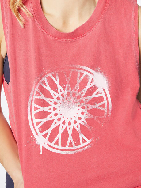 Dylan Cropped Tank Love Potion Pink, Red, large image number 1