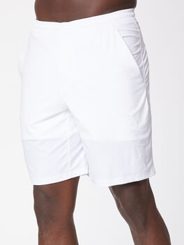 "Pace Breaker Short 9"" *Lined, White, large"