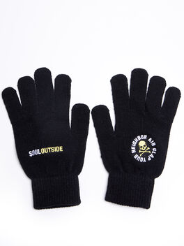 SoulOutside Gloves, Black, large