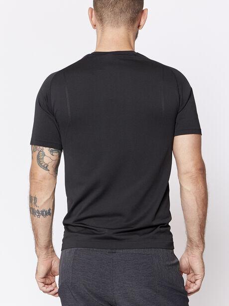 Metal Vent Tech Shortsleeve, Black/Black, large image number 1
