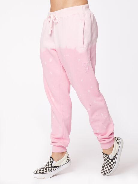Acid Wash BHH Sweatpant Pink, Pink, large image number 0