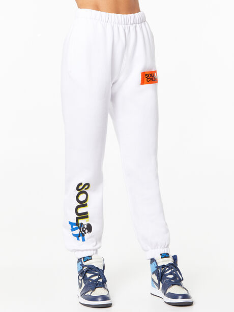 Billie Sweatpant White, White, large image number 0