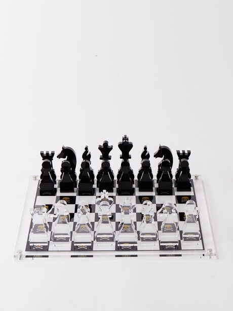 Exclusive Chess Set, White/Yellow, large image number 2