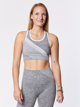 Comet Sports Bra, Dark Grey, large