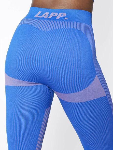 Seamless Contour Legging, Blue, large image number 3