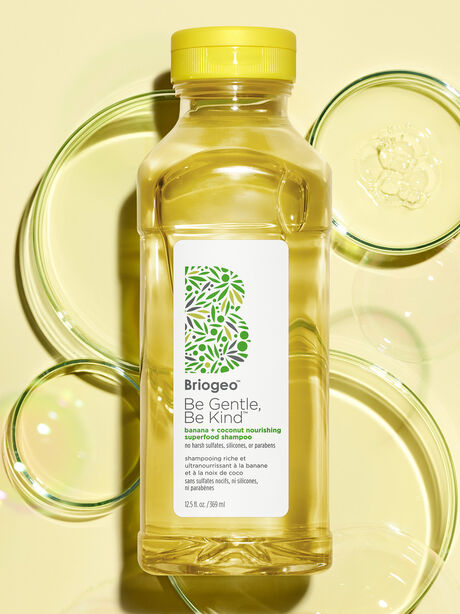 Be Gentle, Be Kind Banana + Coconut Nourishing Superfood Shampoo, Clear, large image number 1