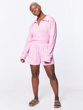 Summer Rugby Shirt Pink, Pink, large