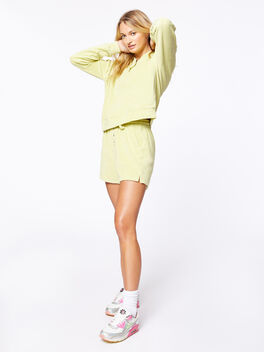 Terry Henley Short Lime, Green, large