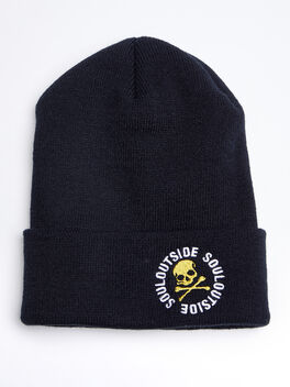 SoulOutside Cold Weather Hat, Black, large