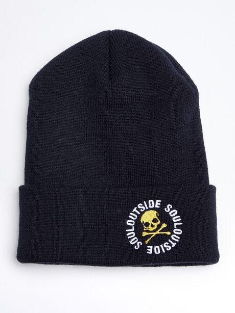 SoulOutside Cold Weather Hat, Black, large image number 0