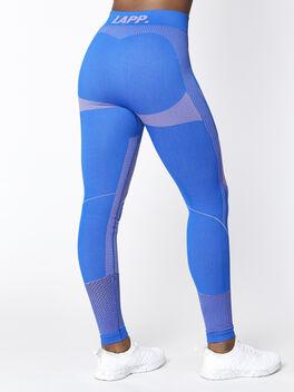 Seamless Contour Legging, Blue, large