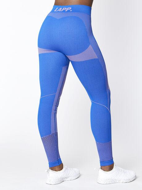 Seamless Contour Legging, Blue, large image number 1