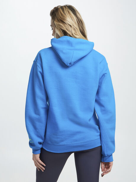 Find Your Soul Bright Blue Hoodie, Blue, large image number 3