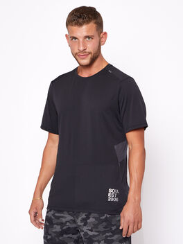Fast and Free Short Sleeve, Black, large