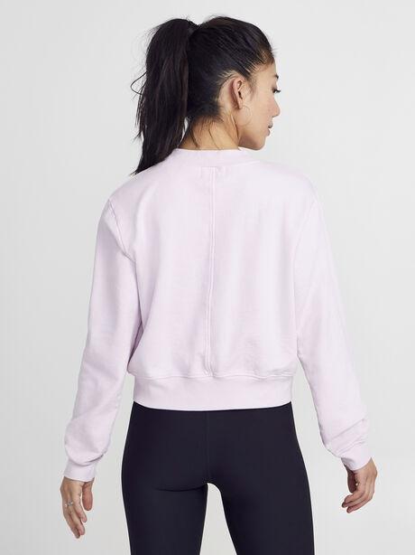 Solid Cropped Milan, Pink, large image number 3