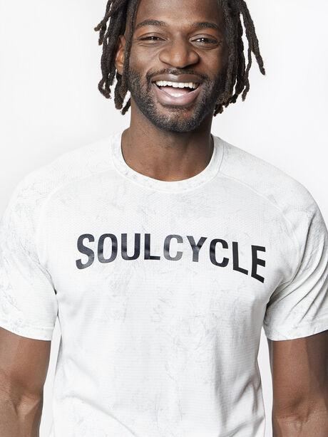 Metal Vent Tech Short Sleeve Shirt, White/White/Light Cast, large image number 1