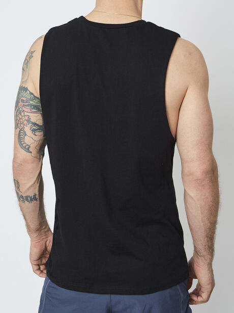 Puppies and Soul Tank, Black, large image number 2
