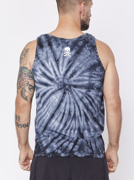 Tie Dye Call Letter Tank, , large image number 1
