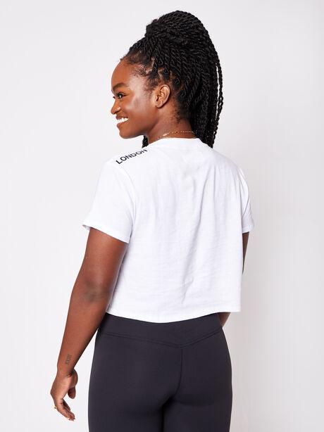 London Short Sleeve Shirt, White, large image number 1