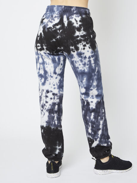 Tie-Dye Super Slouch Sweatpant, Blue Tied, large image number 2