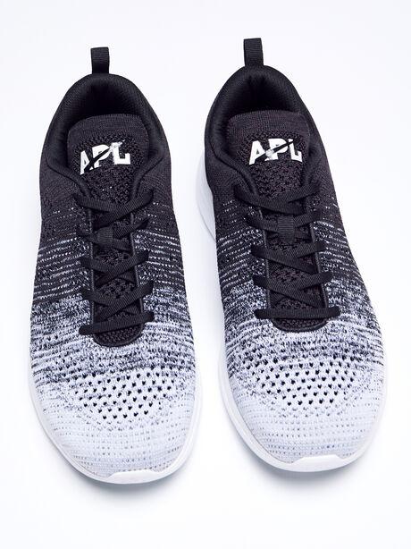Techloom Pro Men's Sneaker, Black/Heather Grey, large image number 2