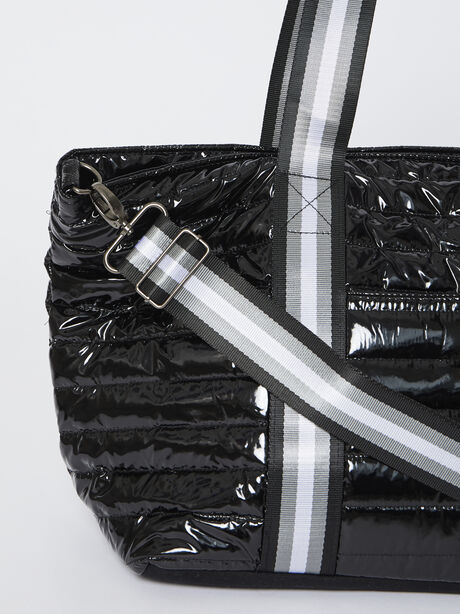 Wingman Bag-Black Patent, Black Patent, large image number 2