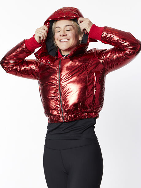 Star Jacket, Red/White, large image number 2